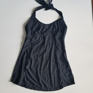 Basic Editions black Swimsuit top or cover all